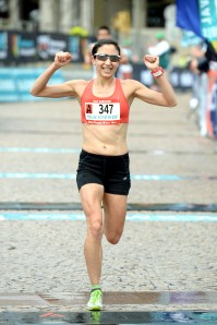 Australian Half Marathon Championship Women's Winner Melanie Panayiotou